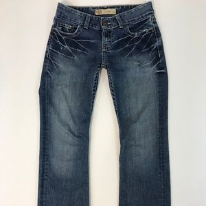 BKE Buckle Womens Culture Boot Jeans 27x31 1/2
